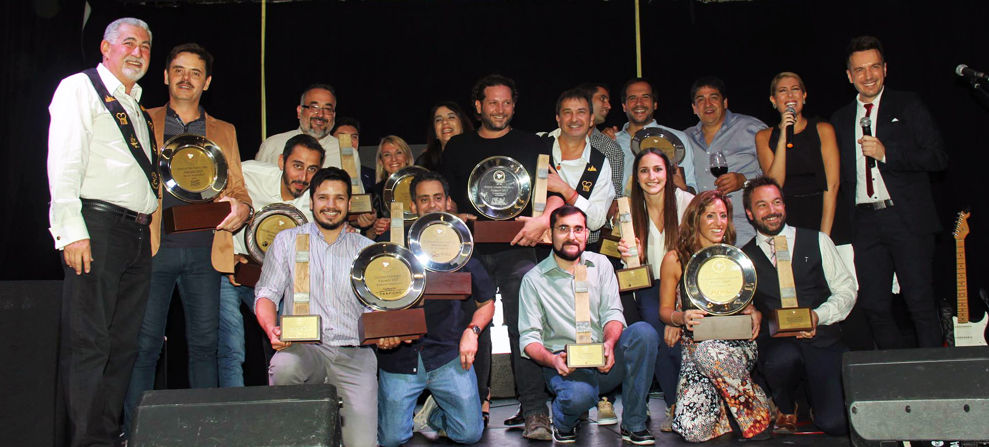 Integrantes club gourmet mendoza